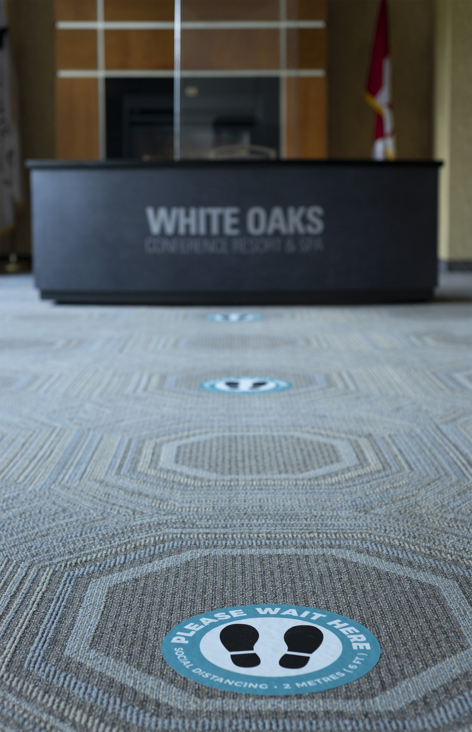 Floor Decals: White Oaks Resort & Spa